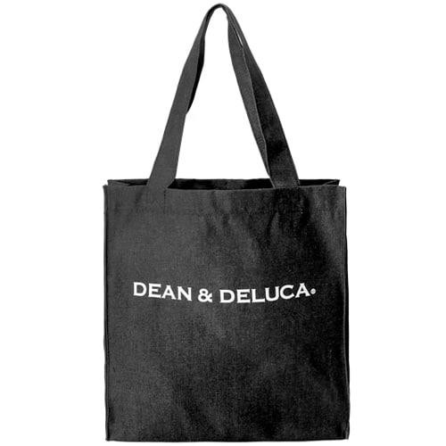 [딘앤델루카 Dean&Deluca] D002-BLACKDENIM / CLASSIC ECOBAG