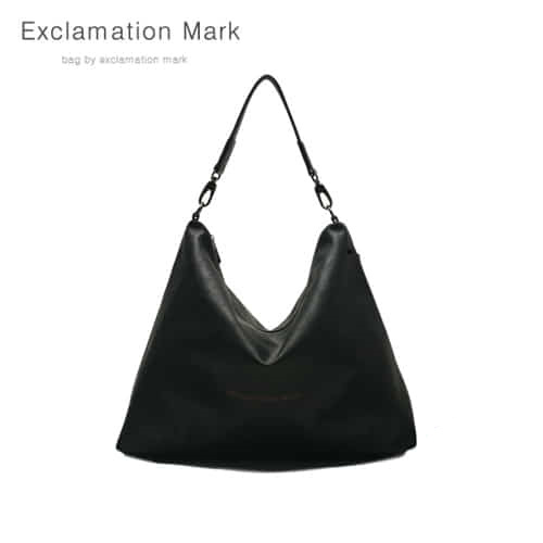 [익스클라메이션마크 ExclamationMark] E001-black / CROSS BAG