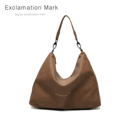 [익스클라메이션마크 ExclamationMark] E001-darkbrown / CROSS BAG