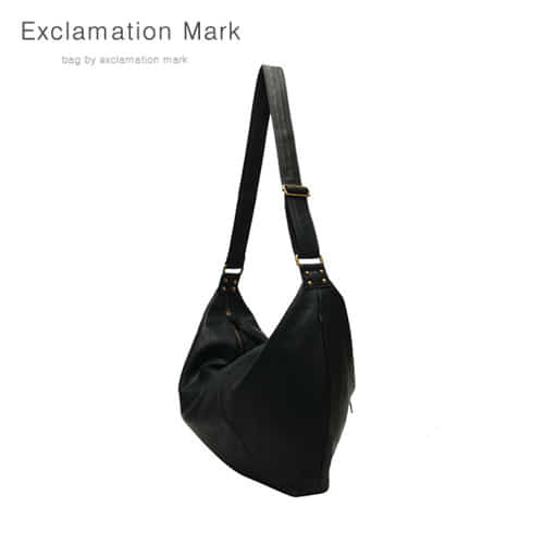 [익스클라메이션마크 ExclamationMark] E003-black / CROSS BAG