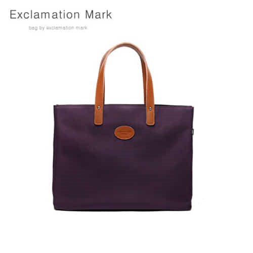 [익스클라메이션마크 ExclamationMark] E007-purple / TOTE BAG