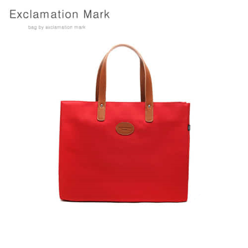 [익스클라메이션마크 ExclamationMark] E007-red / TOTE BAG