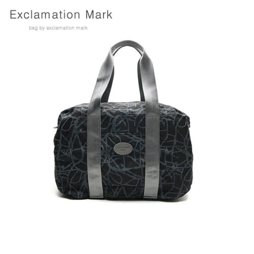 [익스클라메이션마크 ExclamationMark] E009-black / CROSS BAG / TOTE BAG