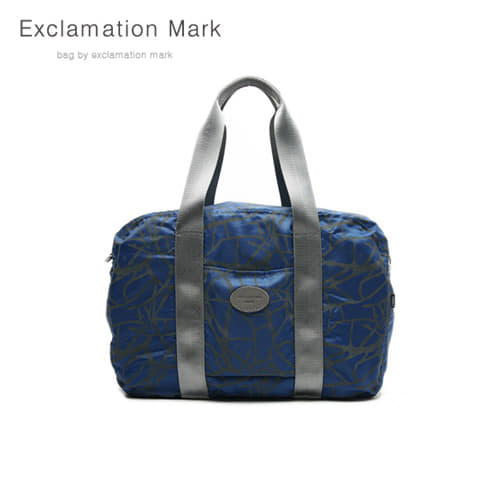 [익스클라메이션마크 ExclamationMark] E009-blue / CROSS BAG / TOTE BAG