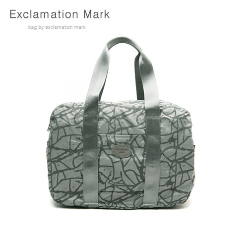 [익스클라메이션마크 ExclamationMark] E009-gray / CROSS BAG / TOTE BAG