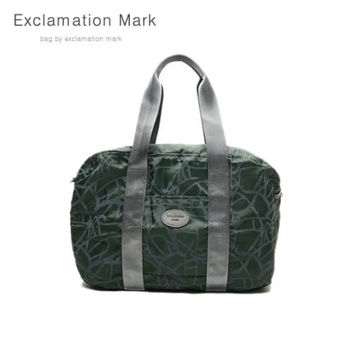 [익스클라메이션마크 ExclamationMark] E009-green / CROSS BAG / TOTE BAG