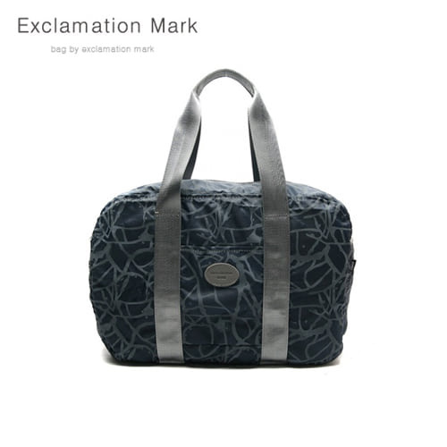 [익스클라메이션마크 ExclamationMark] E009-navy / CROSS BAG / TOTE BAG