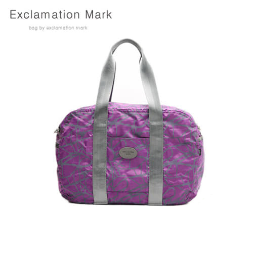 [익스클라메이션마크 ExclamationMark] E009-purple / CROSS BAG / TOTE BAG