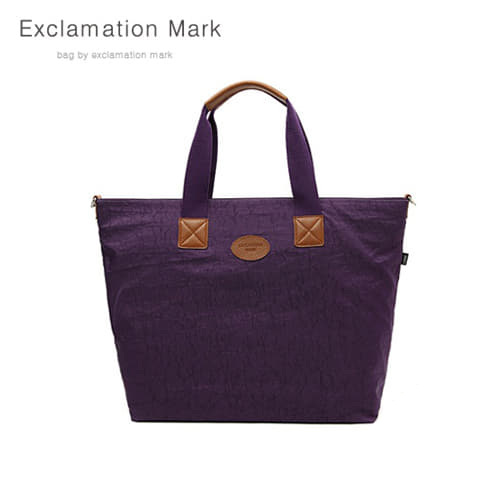 [익스클라메이션마크 ExclamationMark] E010-purple / CROSS BAG / TOTE BAG