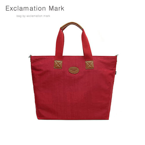 [익스클라메이션마크 ExclamationMark] E010-red / CROSS BAG / TOTE BAG