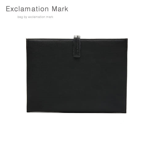 [익스클라메이션마크 ExclamationMark] E012-black / CLUTCH BAG