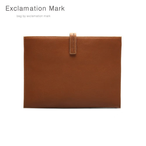 [익스클라메이션마크 ExclamationMark] E012-brown / CLUTCH BAG