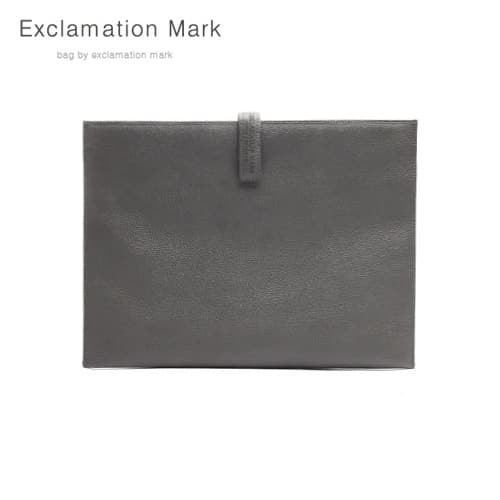 [익스클라메이션마크 ExclamationMark] E012-gray / CLUTCH BAG