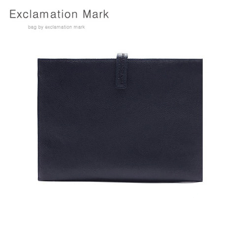 [익스클라메이션마크 ExclamationMark] E012-navy / CLUTCH BAG