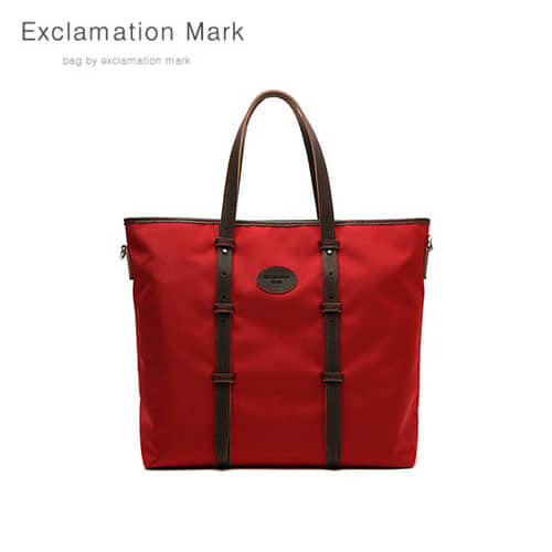 [익스클라메이션마크 ExclamationMark] E013-red / TOTE BAG