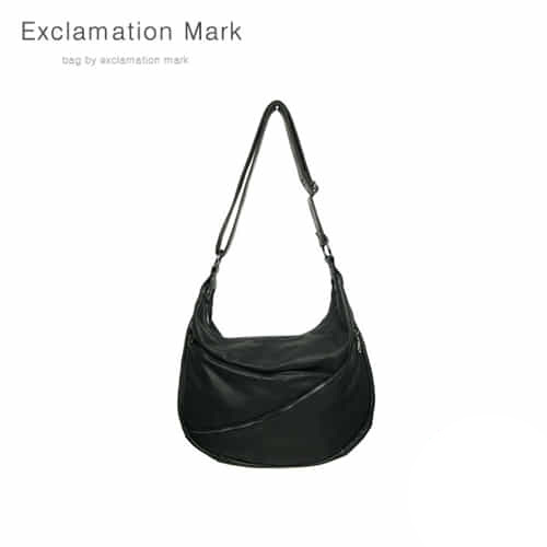 [익스클라메이션마크 ExclamationMark] E014-black / CROSS BAG