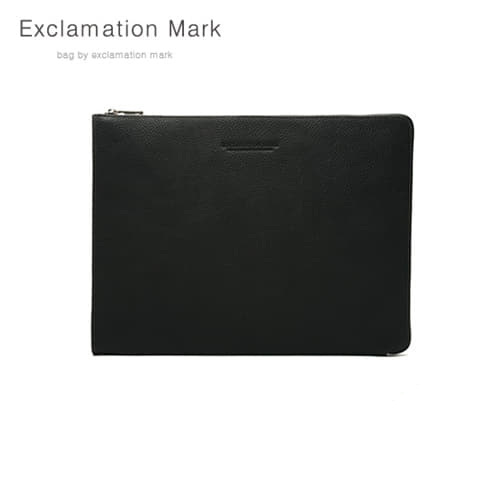 [익스클라메이션마크 ExclamationMark] E016-black / CLUTCH BAG