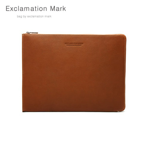 [익스클라메이션마크 ExclamationMark] E016-brown / CLUTCH BAG