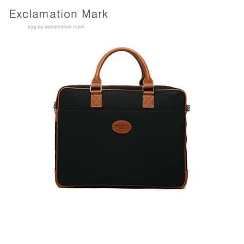 [익스클라메이션마크 ExclamationMark] E021-black / CROSS BAG / TOTE BAG