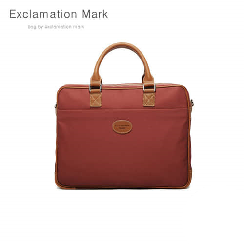[익스클라메이션마크 ExclamationMark] E021-brick / CROSS BAG / TOTE BAG