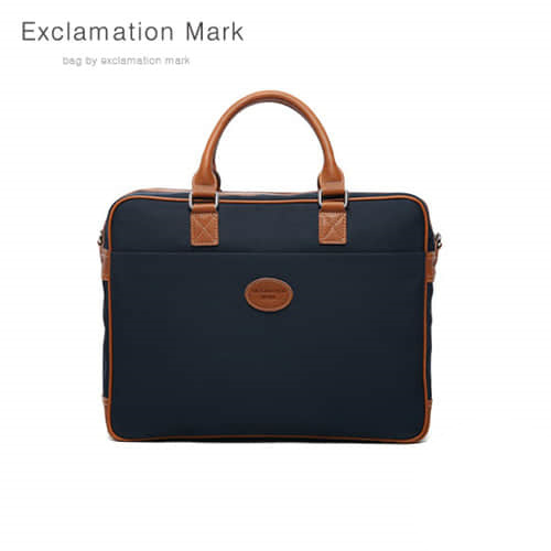 [익스클라메이션마크 ExclamationMark] E021-navy / CROSS BAG / TOTE BAG