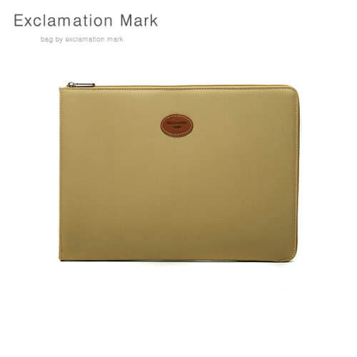 [익스클라메이션마크 ExclamationMark] E023BE 17 inch / CLUTCH BAG