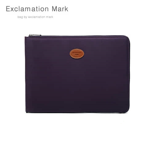 [익스클라메이션마크 ExclamationMark] E023PU 17 inch / CLUTCH BAG