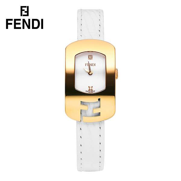 [리퍼상품] 펜디 F300424041D1 카멜레온 여성용 가죽시계 (케이스 변색, 스크래치) 타임메카