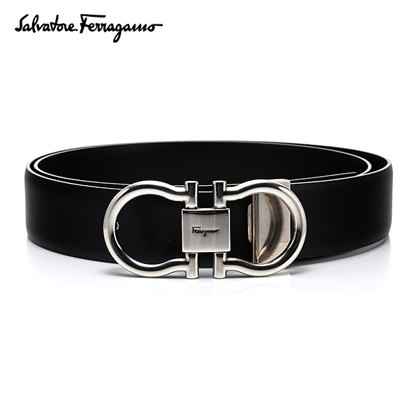 [페라가모 FERRAGAMO] 67 6031 0463428 Double Ganchini 양면벨트