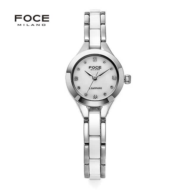 [포체 FOCE] FM1101CM-WH / 레이디제인,서은수 착용 시계