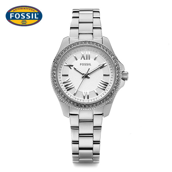 ☆-) [파슬시계 FOSSIL] AM4576 / Ladie Cecile Silver Watch 29.5mm