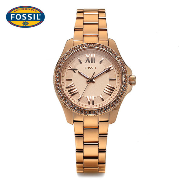 ☆-) [파슬시계 FOSSIL] AM4578 / Ladie Cecile Rose Gold Watch 29.5mm