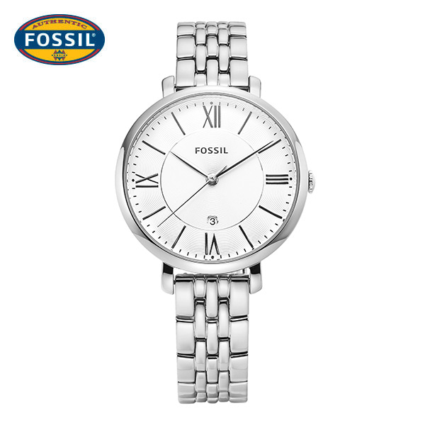 [파슬시계 FOSSIL] ES3433 / Ladies Jacqueline Silver Watch 35mm / 나나 착용 시계★