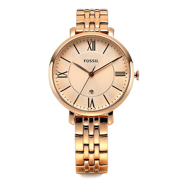 [파슬시계 FOSSIL] ES3435 / Womens Jacqueline Rose Gold Watch 36mm
