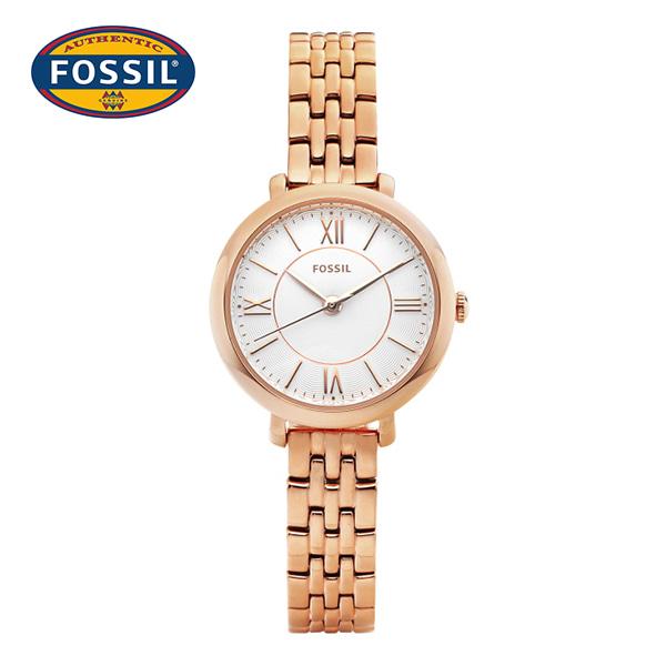 [파슬시계 FOSSIL] ES3799 / Jacqueline Rose Gold 여성용 메탈시계 26mm