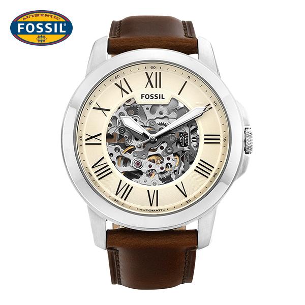 [파슬시계 FOSSIL] ME3099 / 오토매틱 남성용 가죽시계 44mm