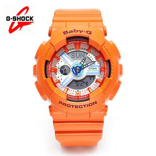 [지샥시계 G-SHOCK] BA-110SN-4A / 베이비지 스니커 컬러 오렌지