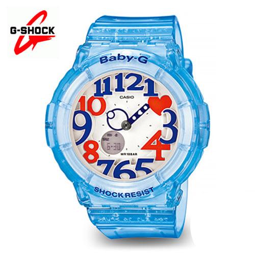 [지샥시계 G-SHOCK] BGA-131-2BDR (BG-A131-2BDR) / 베이비지 네온 다이얼