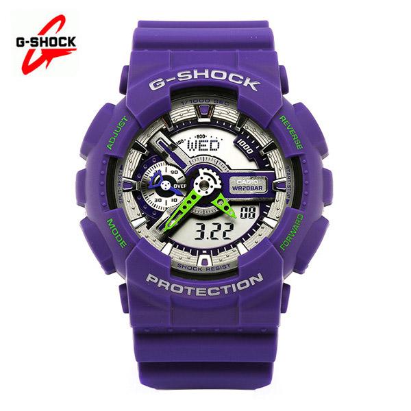 [지샥시계 G-SHOCK] GA-110DN-6A / 빅페이스 더스티네온 퍼플