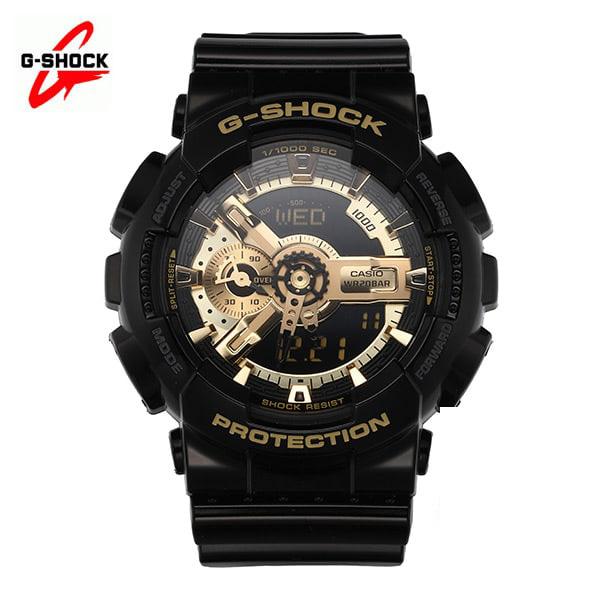 ★-) [지샥시계 G-SHOCK] GA-110GB-1A / 빅페이스 흑금