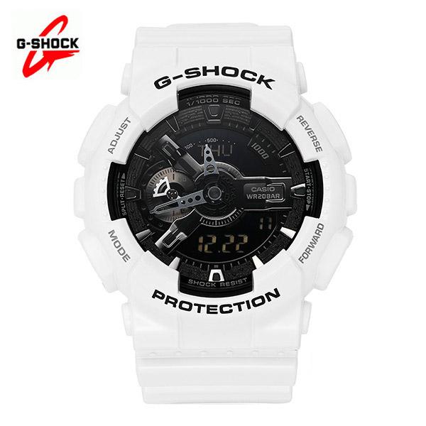 그뤠잇-) [지샥시계 G-SHOCK] GA-110GW-7A / 빅페이스 게리쉬 흑백 (화이트 블랙)