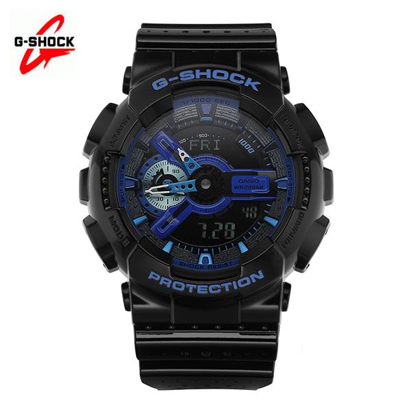 [지샥시계 G-SHOCK] GA-110LPA-1A / 빅페이스 블랙&블루