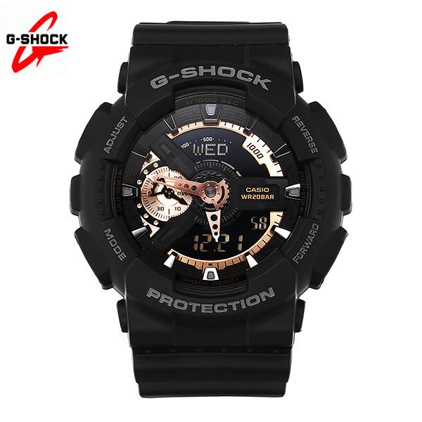 [지샥시계 G-SHOCK] GA-110RG-1A / BIG FACE 빅페이스 로즈골드 남성 우레탄시계 타임메카