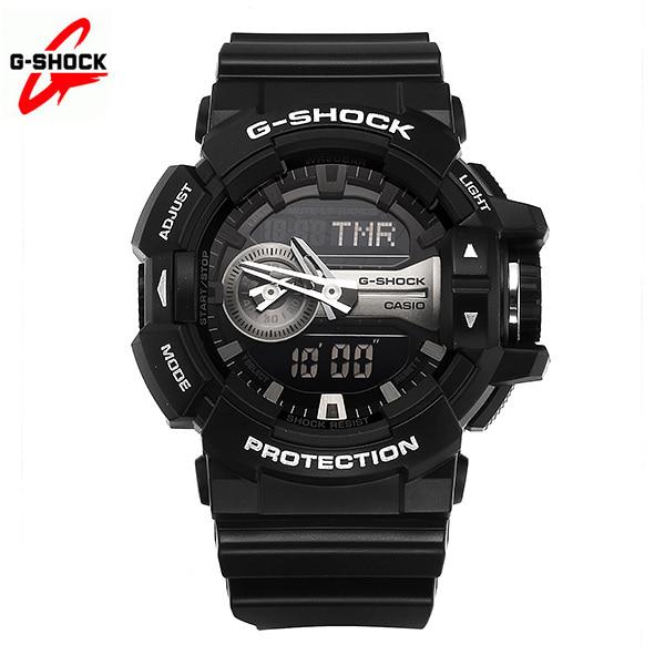 [지샥시계 G-SHOCK] GA-400GB-1A / BIG FACE 빅페이스 남성 우레탄시계 타임메카