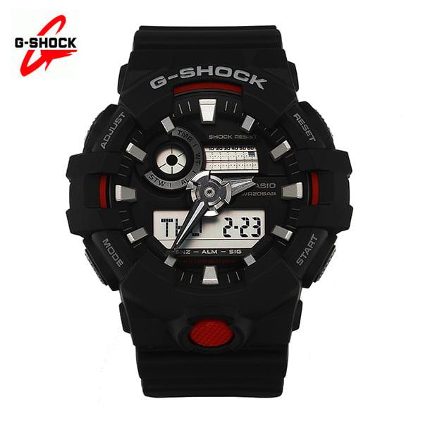 [지샥시계 G-SHOCK] GA-700-1A / 빅페이스 블랙레드