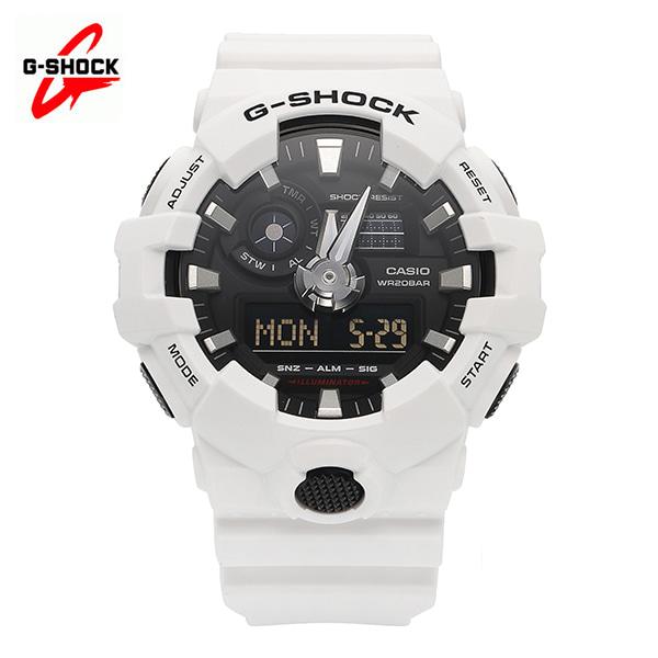 [지샥시계 G-SHOCK] GA-700-7A 빅페이스 화이트 블랙