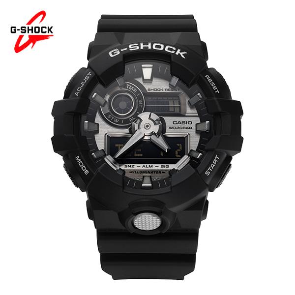 [지샥시계 G-SHOCK] GA-710-1A / 스탠다드 아날로그 디지털 블랙