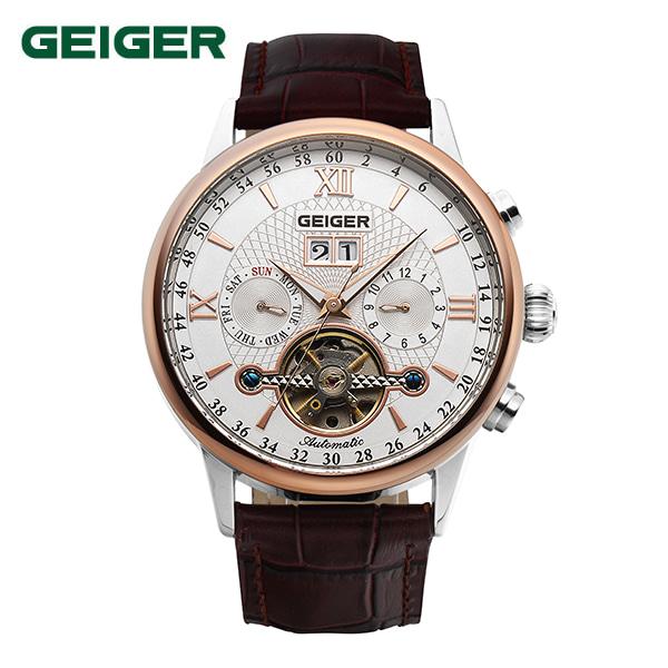 [가이거시계 GEIGER] GE1134ROCH 인기모델 딱 20개 판매 / 남성용 오토매틱 42mm