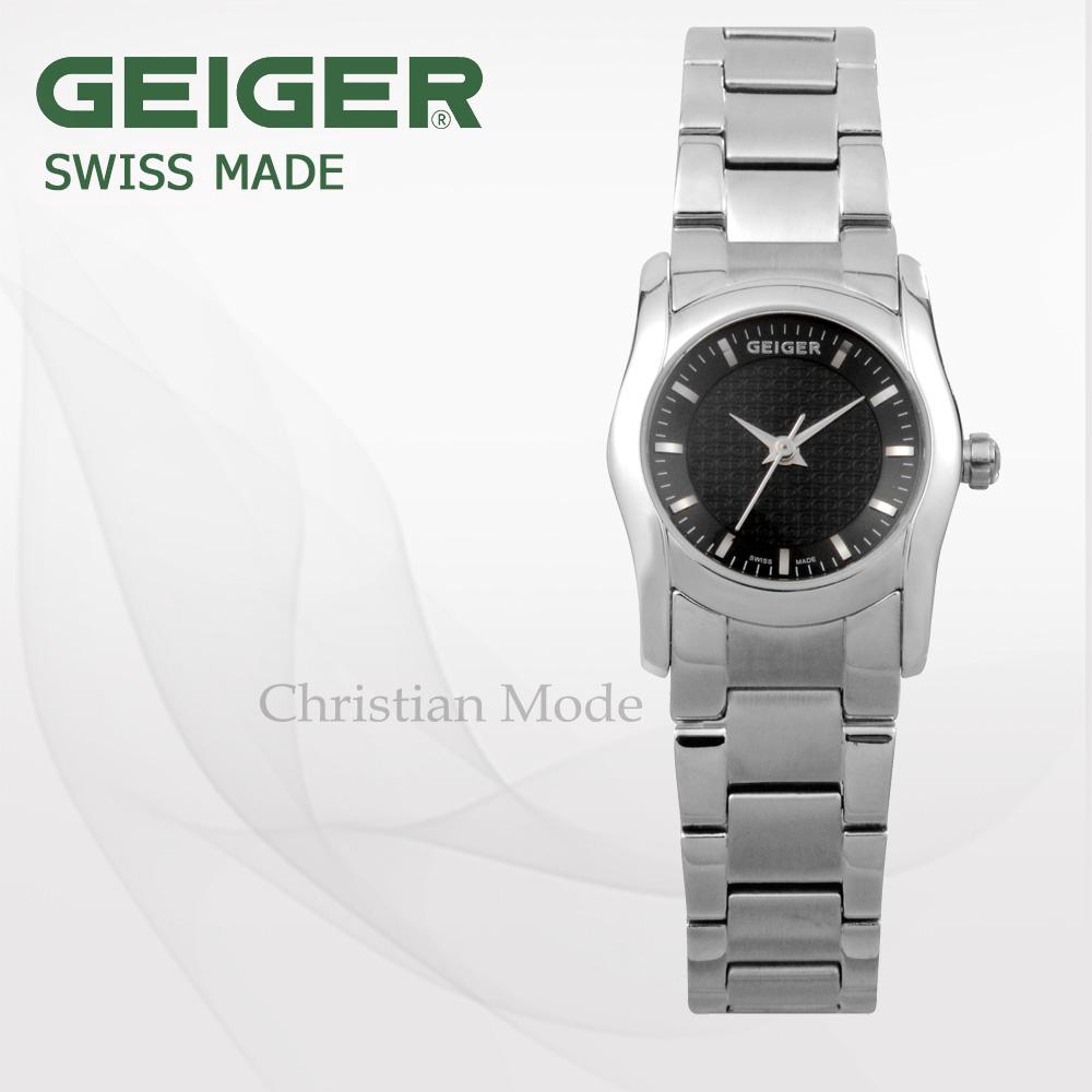 [가이거시계 GEIGER] GE6017-1BS_L /스위스메이드 여성용 메탈밴드 25mm
