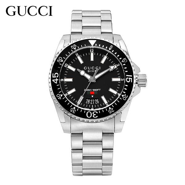 [구찌시계 GUCCI] YA136301 Dive Lg Negro 40mm